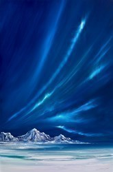 Bright Northern Lights V by Jonathan Shaw -  sized 24x36 inches. Available from Whitewall Galleries